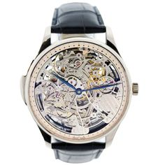 IWC 18K White Gold Portuguese Skuelette Skeleton Minute Repeater