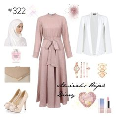 """#322 Let Her Go"" by aminahs-hijab-diary ❤ liked on Polyvore featuring Miss Selfridge, Anne Klein, Monsoon, Sephora Collection and Victoria's Secret"