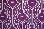 Indian Safari Grape Fabric Sample