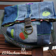 LiFinchen: RUMS ::: upcycled JeansBAG