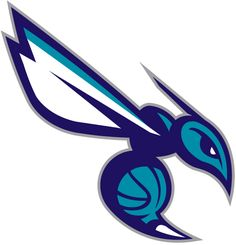 Charlotte Hornets Alternate Logo on Chris Creamer's Sports Logos Page - SportsLogos. A virtual museum of sports logos, uniforms and historical items. Mascot Design, Logo Design, Graphic Design, Charlotte Hornets Logo, Team Logo, Art Diy, Cool Logo, Logo Inspiration, Logo Branding