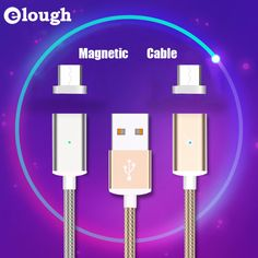 """""""Magnetic usb cable for ios and android with strong magnet, fashionable magnetic charger#magnetic usb cable#usb cable"""""""