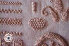 Bordado das Caldas da Rainha vs Punto Umbro, Sorbello o Portoghese (I) | agulhas da Méri®