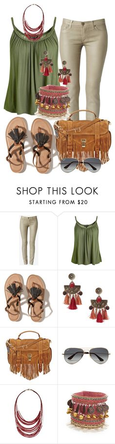 Casual by alice-fortuna on Polyvore featuring Topshop, Hudson, Hollister Co., Proenza Schouler, Deepa Gurnani, MANGO, Dorothy Perkins and Ray-Ban