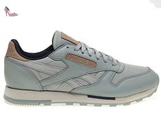 97b0a266d07 Reebok Classic Leather Utility Homme Baskets Mode Gris - Chaussures reebok  ( Partner-Link