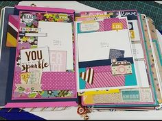 Final Review: Mix & Match Mini Clipboard scrapbook So Fancy Collection Part 1 of 2 - YouTube
