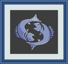 Check out this item in my Etsy shop https://www.etsy.com/listing/549331216/pisces-cross-stitch-pattern-pisces