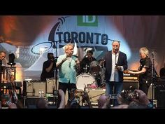 The Legendary Downchild Blues Band on June 2019 On Bloor Street at The Toronto Jazz Festival with Dan Ackroyd Jazz Festival, Blue Band, Dan, Blues