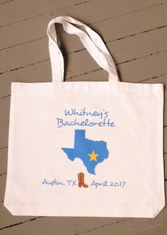 Personalized Austin Texas Bachelorette by yourethatgirldesigns