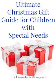 The Ultimate Gift Guide for Children with Special Needs. www.GoldenReflectionsBlog.com