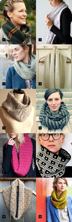 Gift knitting is stressful, ain't it? The good news is, everyone loves a cowl. (Girls, anyway.) So just like with last year's holiday hat knitting cheat sheet, I've put together a little gift guide...
