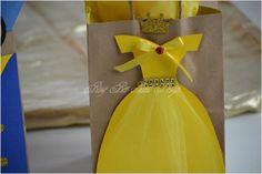Belleza y la bestia parte favorecen bolsas / princesa Belle y