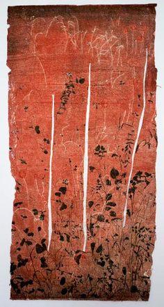 G. W. BOT_Garden of Gethsemane II #red #western #aboriginal #aborigene #contemporain
