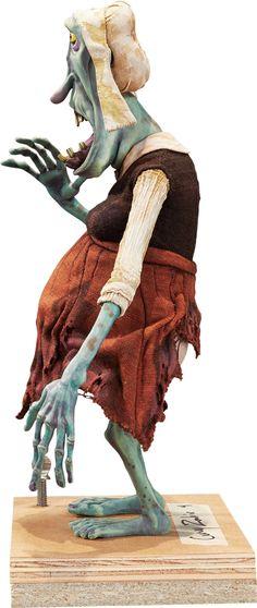Animation Art:Puppet, ParaNorman Goodie Temper Zombie Original Animation Puppet(LAIKA, 2012).. ...