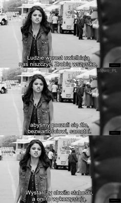 Sad Quotes, Movie Quotes, Selena Gomez, Quotations, Texts, Mood, Thoughts, Feelings, Life