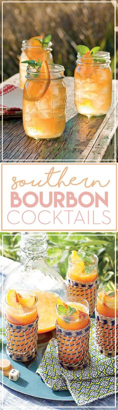 Show off a classic Southern staple at your next party with these satisfying bourbon cocktails.