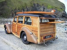 A woody staion wagon from the Content in a Cottage Blog - delightful!