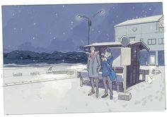 "oheyso: Winter Makoharu "" 春夏秋冬 """