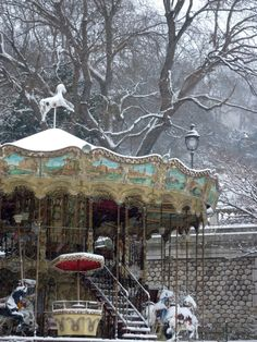 manon 21: Montmartre in the snow