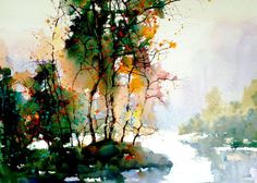 A Sprinkling of Watercolor Artists « The Orchard Z L Feng