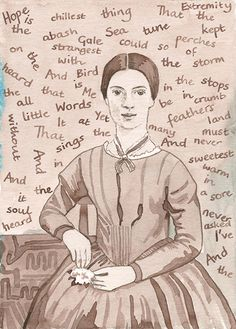 Emily Dickinson by Alison Kolesar
