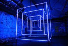 Hypercube: Installation by Kit Webster