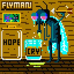 """Flyman's own sad, sad NES game by Nes Games, Fantasy Fiction, Desktop Screenshot, Sad, Twitter"