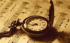 antique pocket watches | vintage, music, pocket watch, sepia, wallpaper