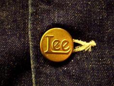 Vintage Lee Chorecoat Button