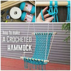 Macrame Hanging Chair DIY