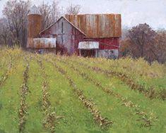 "After the Harvest II by Joe Anna Arnett Oil ~ 16"" x 20"" Workshop Instructor Tubac School of Fine Art LLC"