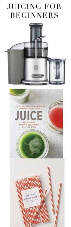 Juicing 101 :: The best recipes + juicer for beginners #juicingforbeginners