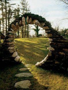 Irlanda, Nação Celta... Portão Da Lua - Irlanda...