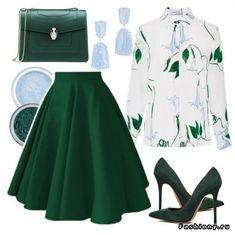 33 сета. Весна - лето High Fashion Outfits, Classy Outfits, Cute Fashion, Women's Fashion Dresses, Girl Fashion, Womens Fashion, Stitch Fix Outfits, Hijab Stile, Kinds Of Clothes