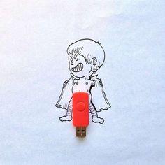 USB-Exhibitionist