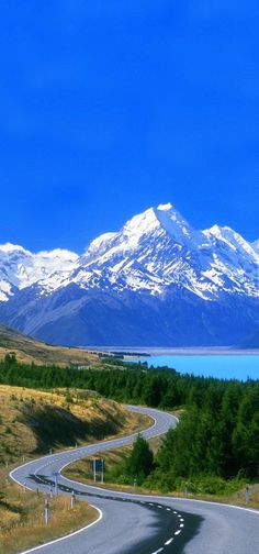 South Island New Zealand Landscape Photography Beautiful Roads, Beautiful Landscapes, Beautiful World, Beautiful Places, Landscape Photography, Nature Photography, Photography Backgrounds, Scenic Photography, Places To Travel