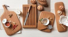 These are beautiful! Specialty bamboo cutting boards. Designs by bambu. Crafted from organically grown bamboo.