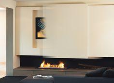 Fireplace: Wall fireplace 870SlidingOpen