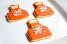 Home Depot Apron Cookies (me! Anika Burrell)