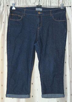8a1254be0cda Dorothy Perkins Ladies Long Stretch Denim Shorts Size 14 Mid Rise  fashion   clothing