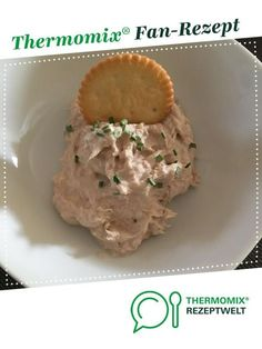 Thunfisch Dip Tuna dip from mabrune. A Thermomix ®️️ recipe from the Sauces / Dips / Spreads category www.de, the Thermomix ®️️ Community. Tuna WrapsItalian dipPaprika dip with garlic Crock Pot Recipes, Slow Cooker Recipes, Soup Recipes, Easy Salads, Healthy Salad Recipes, Vegetarian Recipes, Easy Meals, Tuna Dip, Appetizer Recipes