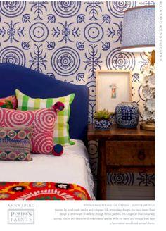 Lovely wallpaper design , by Anna Spiro...