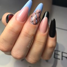 Best 70+ Almond shaped French tip nails 2018