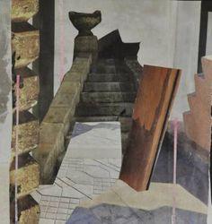 """Saatchi Art Artist Jennifer Wojinski; Collage, """"'The Divine Doorway'"""" #art"""