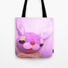 Buy Purple bunny Tote Bag by marian. Worldwide shipping available at Society6.com. Just one of millions of high quality products available.