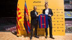 Betfair, nuevo patrocinador global del FC Barcelona