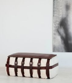 Organic Cotton Bale Bench by Jim Zivic at Ralph Pucci