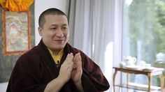 """""""What is Buddhist meditation?"""" ► H.H. 17th Karmapa on how to meditate"""