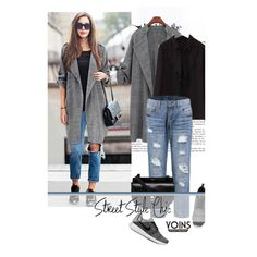 Street style chic by merima-kopic on Polyvore featuring NIKE, Chloé, Karl Lagerfeld and yoins
