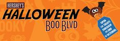 Visit HERSHEY'S Halloween Boo Blvd. every day to share your Halloween experiences, get Halloween tips and have frightful fun!